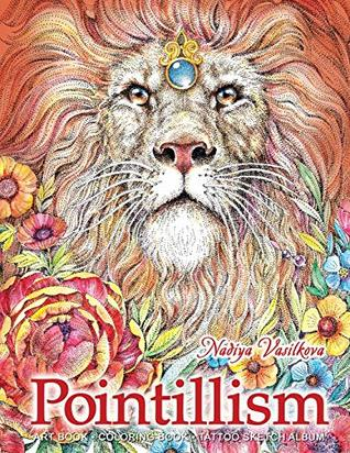 Pointillism: Art Book, Coloring Book, Tattoo Sketch Album
