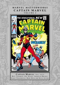 Marvel Masterworks: Captain Marvel, Vol. 2
