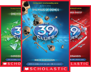 The 39 Clues Books 1-5: The Maze of Bones / One False Note / The Sword Thief / Beyond the Grave / The Black Circle (5 Book Series)