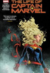 The Life of Captain Marvel Book