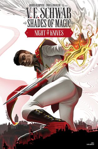 Night of Knives #1 (Shades of Magic Graphic Novels #5)