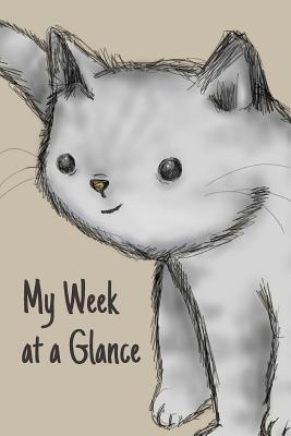 My Week at a Glance: Undated Weekly Planner with to Do List, Appointments and Habit Tracker