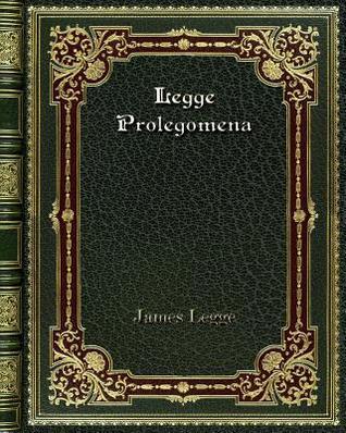 Legge Prolegomena