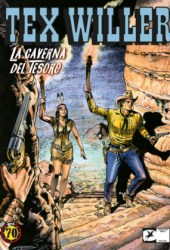 Tex Willer n. 4: La caverna del tesoro Book