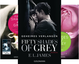 Fifty Shades of Grey (Reihe in 3 Bänden)