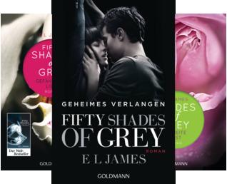 Fifty Shades of Grey (Reihe in 3 Bänden)