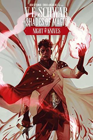 Night of Knives #4 (Shades of Magic Graphic Novels #8)