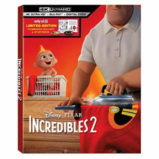 Incredibles 2 : 4K UHD + Filmmaker Gallery + StoryBook [Limited Edition]