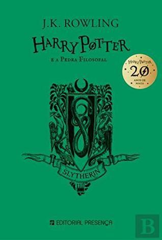 Harry Potter e a Pedra Filosofal 20 Anos - Slytherin