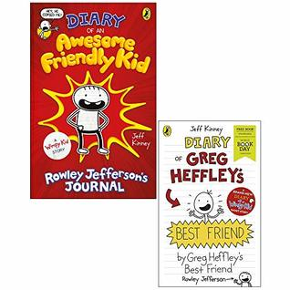 Diary of an Awesome Friendly Kid, Diary of Greg Heffley's Best Friend World Book Day 2 Books Collection Set