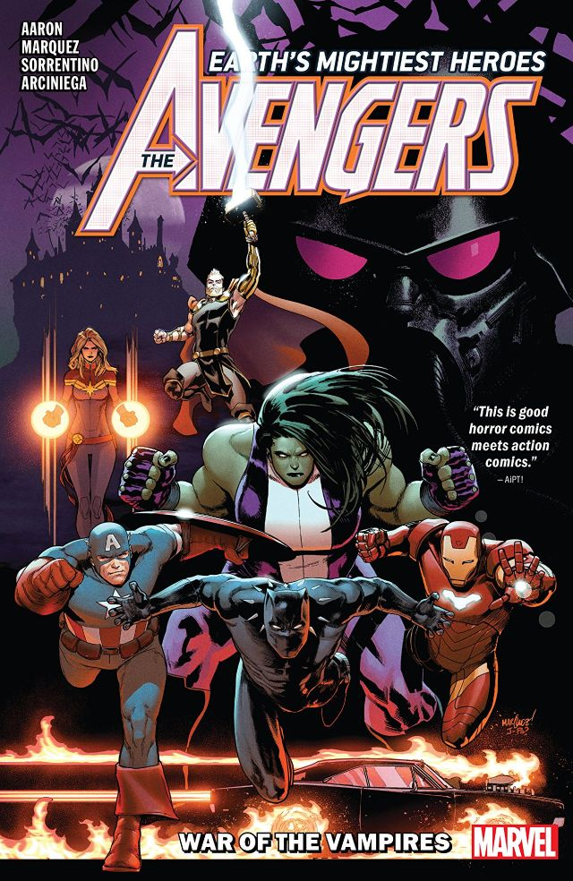 Avengers by Jason Aaron, Vol. 3: War of the Vampires