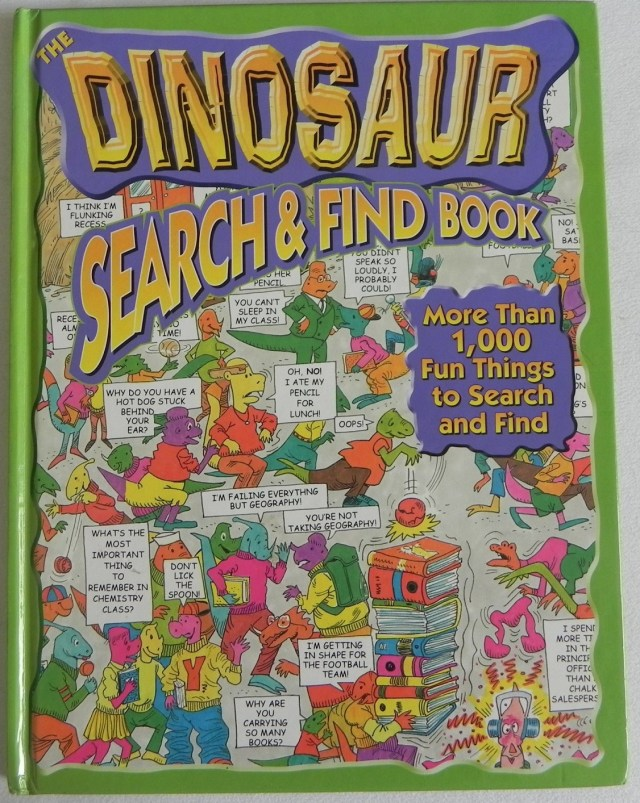 The Dinosaur Search and Find Book
