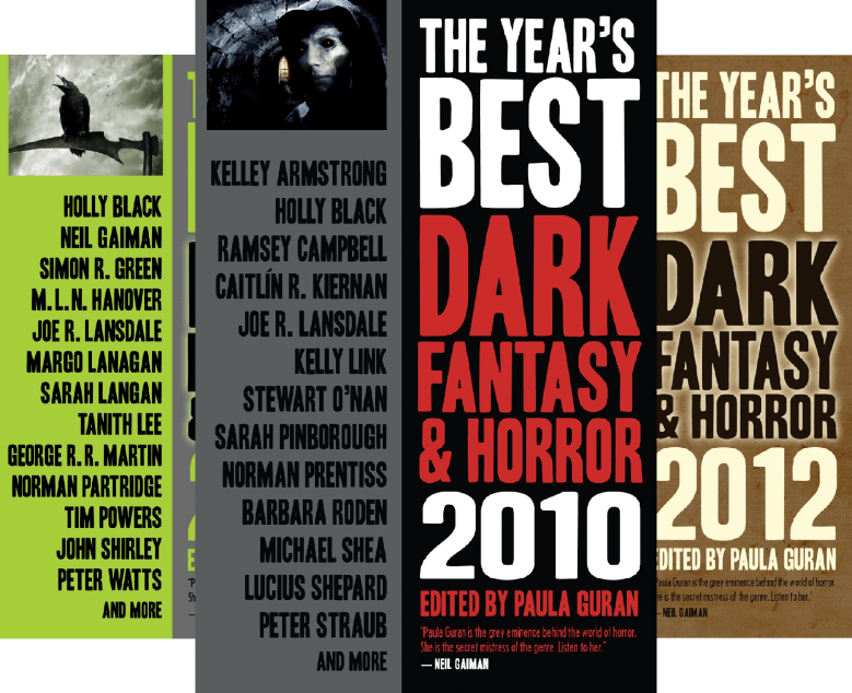 The Year's Best Dark Fantasy & Horror (6 Book Series)