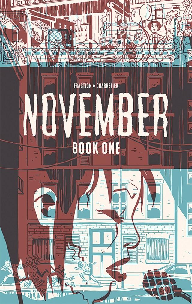 November Volume I : The girl on the roof