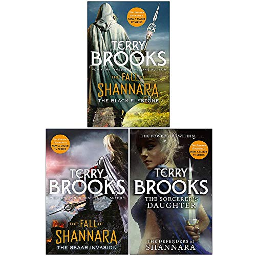 The Fall of Shannara Collection Set: The Black Elfstone, The Skaar Invasion, The Sorcerer's Daughter
