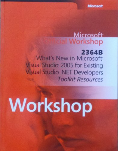 Microsoft Official Workshop 2364B-Toolkit Resources