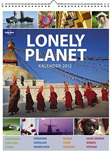 2012 Lonely Planet Poster Calendar