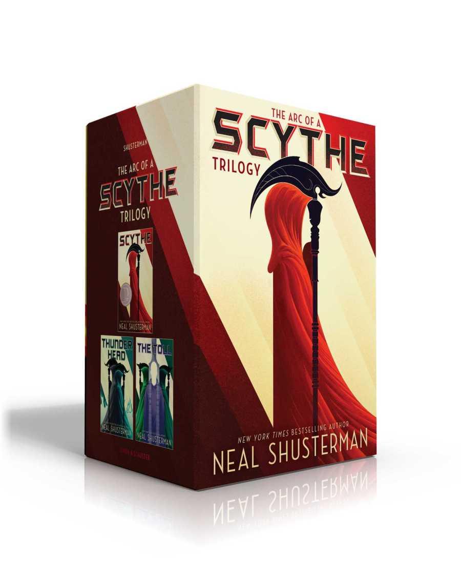 The Arc of a Scythe Trilogy: Scythe / Thunderhead / The Toll (Arc of a Scythe, #1-3)
