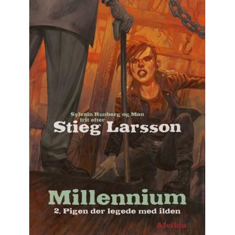 Millennium 2: Pigen der legede med ilden