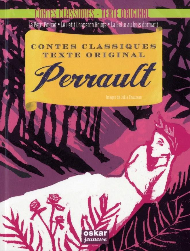 Contes classiques, textes originaux - Perrault