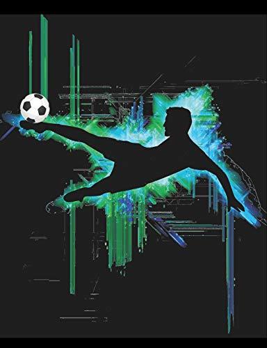 Journal: Cool Boy's Soccer Player's Notebook