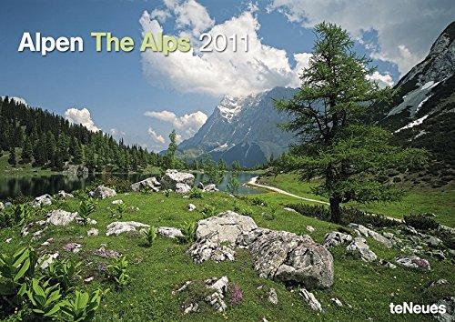 2011 The Alps A3 Calendar