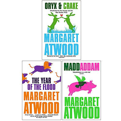 Maddaddam Trilogy Series 3 Books Collection Set By Margaret Atwood