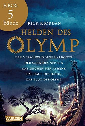 Helden des Olymp: Alle fünf Bände der Bestseller-Serie in einer E-Box!