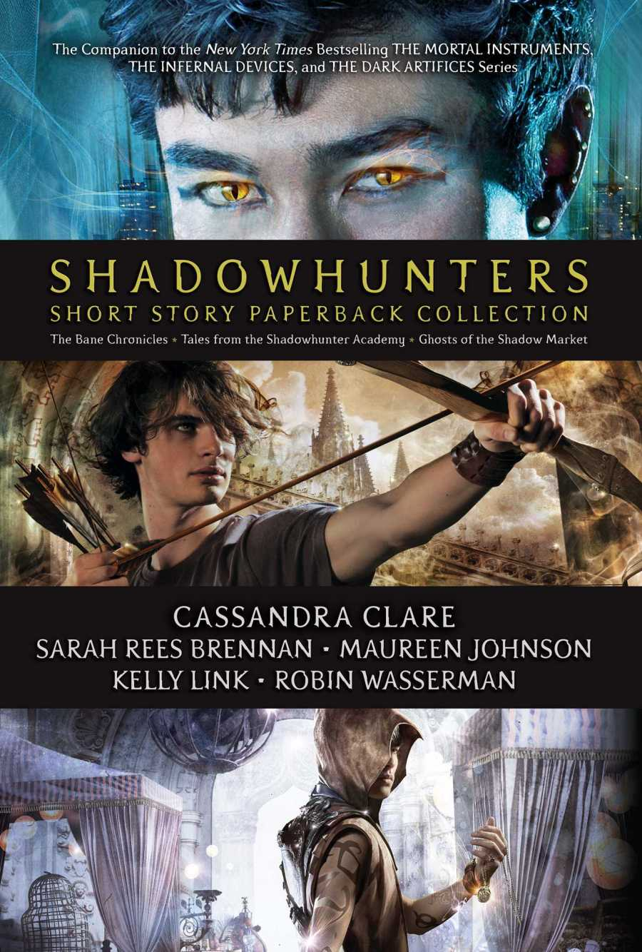 Shadowhunters Short Story Paperback Collection: The Bane Chronicles; Tales from the Shadowhunter Academy; Ghosts of the Shadow Market