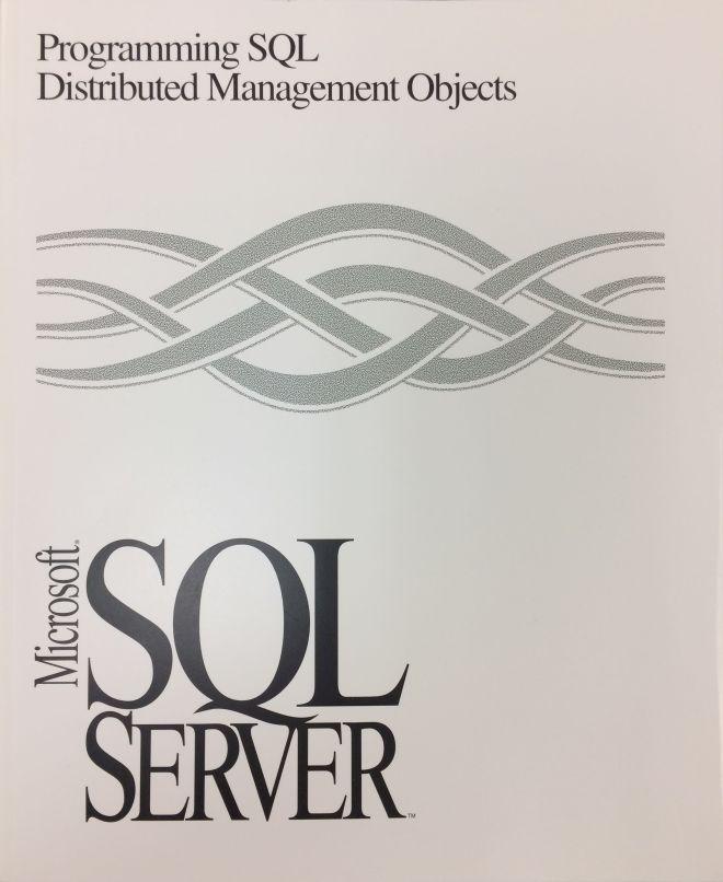 Programming SQL Distributed Management Objects - Microsoft SQL Server, Version 6.0