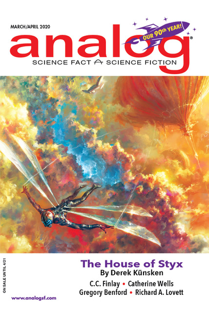 Analog Science Fiction and Fact March/April 2020 (Vol 140, Nos. 3 & 4)