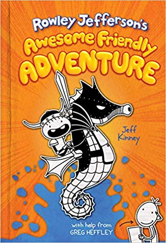 Rowley Jefferson's Awesome Friendly Adventure  (Diary of an Awesome Friendly Kid #2)
