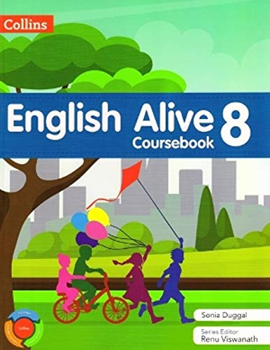 Collins English Alive Coursebook Class 8
