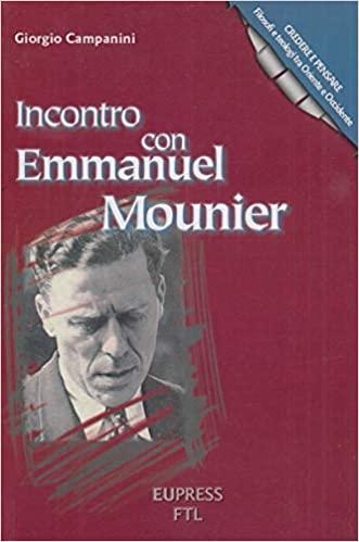Incontro con Emmanuel Mounier
