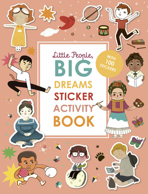 Little People, Big Dreams Activity Book: Learn facts about inspiring people as you color, dot-to-dot, spot the difference, and doodle
