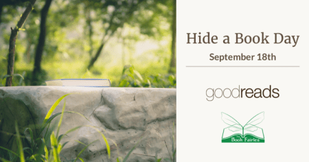 Hide A Book Day September 18th