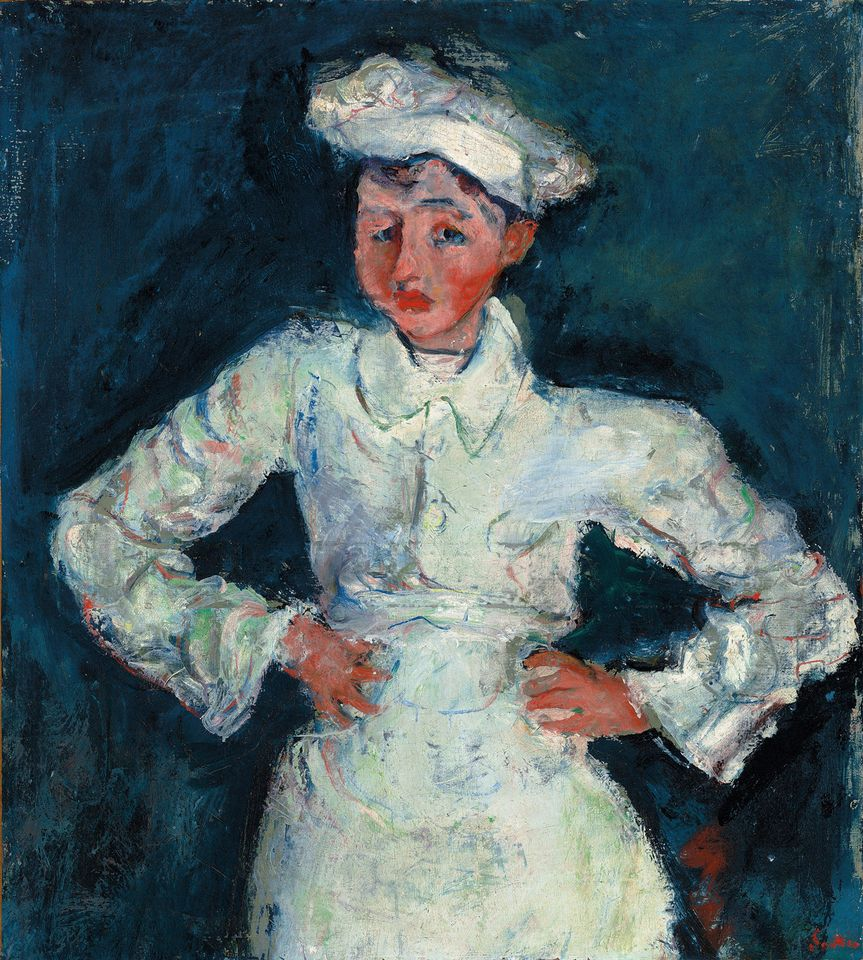 Chaim Soutine's The Little Pastry Cook (around 1927)