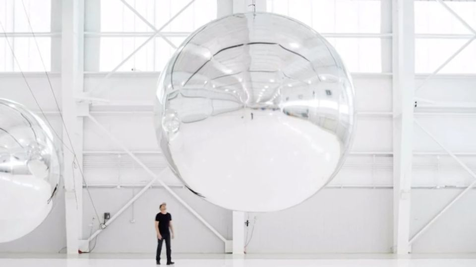 Trevor Paglen's postponed show Unseen Stars at the Officine Grandi Riparazioni in Turin was to have included his Orbital Reflector art satellite project