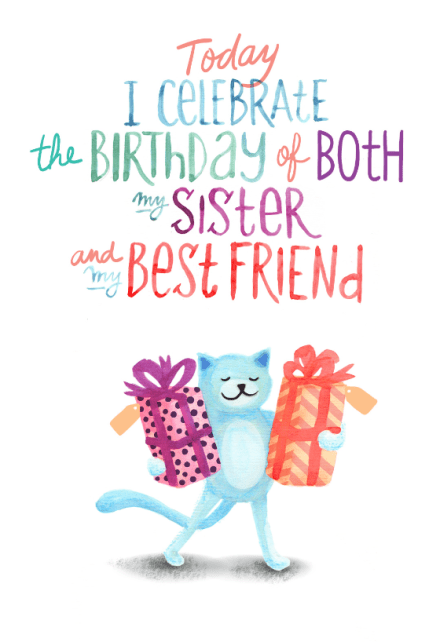 Birthday Cards For Sister Free Greetings Island