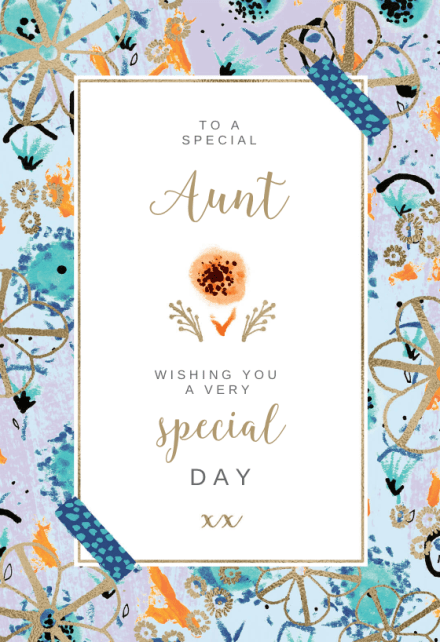Birthday Cards For Aunt Free Greetings Island