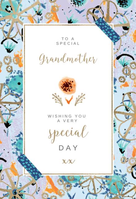 Birthday Cards For Grandma Free Greetings Island