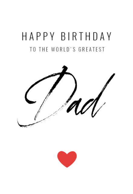 Birthday Cards For Dad Free Greetings Island