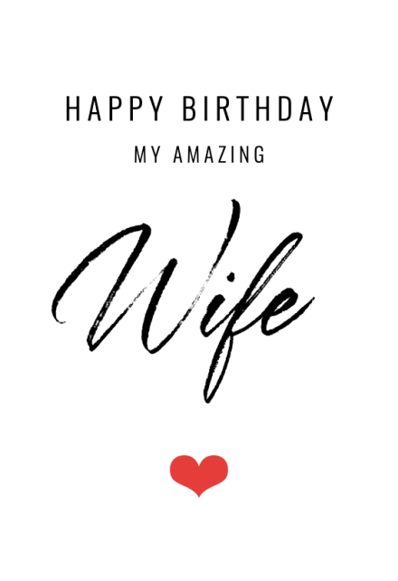 Birthday Cards For Wife Free Greetings Island