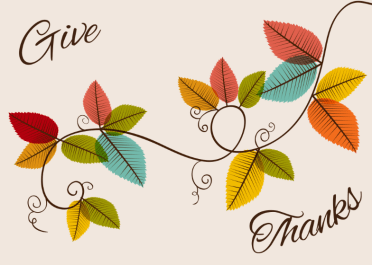 Graceful Gratefulness Free Thanksgiving Card Greetings
