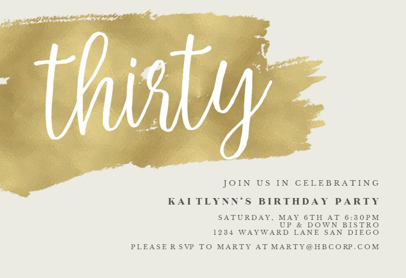 Online Baptism Invitations