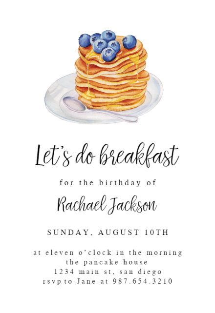 Baby Invitation Shower Brunch Wording