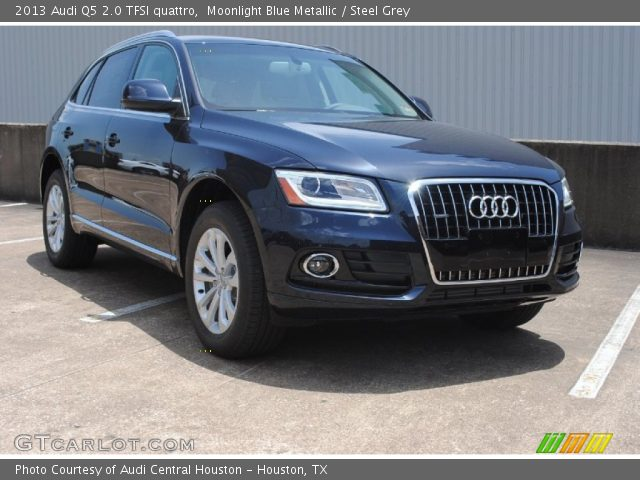 Moonlight Blue Metallic 2013 Audi Q5 20 TFSI Quattro