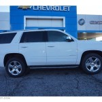 2016 Summit White Chevrolet Tahoe Ltz 110873092 Photo 8 Gtcarlot Com Car Color Galleries