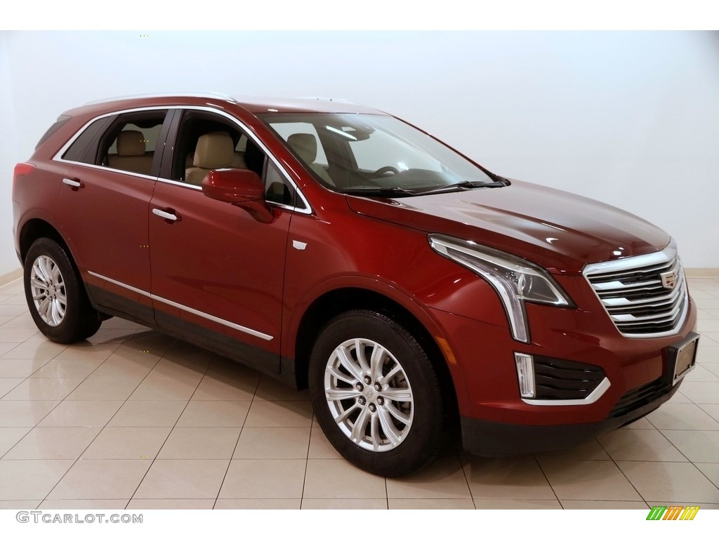 2017 Red Passion Tintcoat Cadillac XT5 FWD 124684840