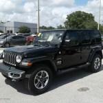 2018 Black Jeep Wrangler Unlimited Sahara 4x4 127650275 Gtcarlot Com Car Color Galleries